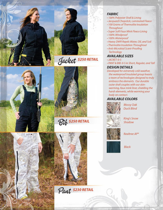 Waterproof Insulated Bib, Jacket & Pant