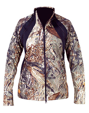 Convertable Jacket Mossy Oak Duck Blind front